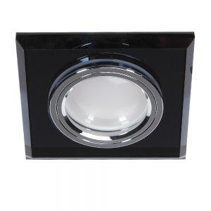 LHG LED-Einbaustrahler Glas Schwarz  3-fach switchmo dimmbar