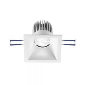 LED-Einbaustrahler Sigma, quadratisch