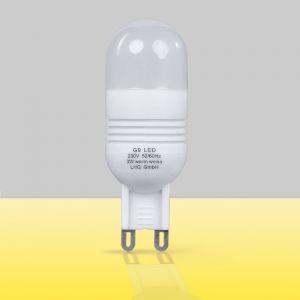 LHG LED, G9, 3 Watt, 2700K warmweißes Licht