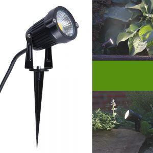 LHG LED-Gartenleuchte Erdspieß McShine+ Spannungsprüfer Gratis