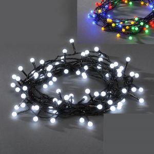 LED-Globelichterkette, 160 Dioden, 8 Funktionen, Steuergerät, 2 Farben