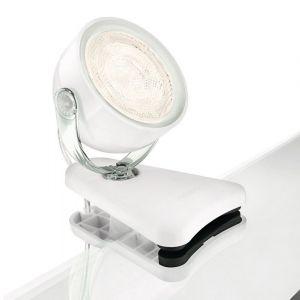 LED-Klemmspot im Retro-Stil aus Kunststoff