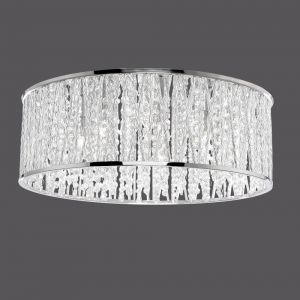 LED-Kristalldeckenleuchte Lefes 48cm, 7 x 3Watt 7x 3 Watt, 19,00 cm, 48,00 cm