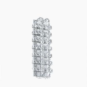 LED-Kristallleuchte Lonzaso für die Wand