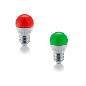 LED-Leuchtmittel E27, 4 Watt, 200 Lumen, 2 Farben