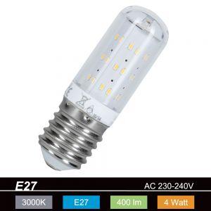 LED-Leuchtmittel mit E27-Sockel - 4 Watt, 3000 K, warmweiss, 400 Lm