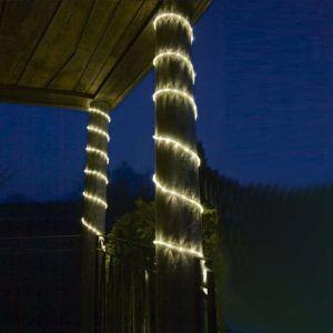LED-Lichterschlauch, Außen, dekorativ, 6m lang, Warmweiß o. Blau