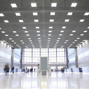 LED-Panel, für eingehängte Decken, neutralweiß, quadratisch, weiß