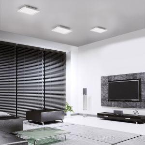LED-Panel, Funkfernbedienung, CCT-Lichtmanagement, quadratisch