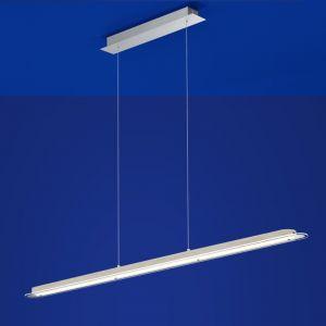 LED-Pendelleuchte Carl mit Holz von B-Leuchten