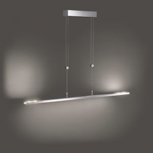 LED-Pendelleuchte Clareo 115 cm, höhenverstellbar 2 Farben