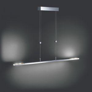 LED-Pendelleuchte Clareo 170cm, dimmbar in 2 Farben