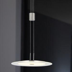 LED-Pendelleuchte Glas 35 cm, LED 21,6W