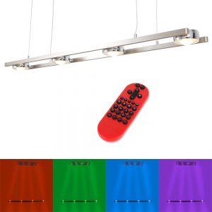 LED-Pendelleuchte Lola Opti mit RGB und CCT und Fernbedienung
