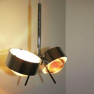 LED-Pendelleuchte Puk Maxx Long Double mit Adapter