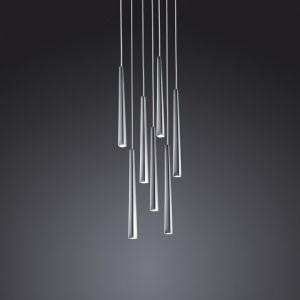 LED-Pendelleuchte, Rondell Lucid