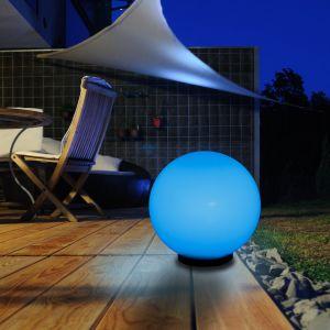 LHG LED-RGB 30cm Kugelleuchte LED-RGB Leuchtmittel mit Fernbedienung