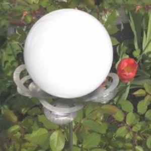 LED-Solar Design Lichtblüte Lilli weiß