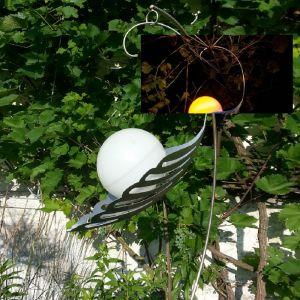 LED-Solar Design Lichtblüte mit sanftem Farbwechsel