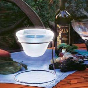 LED-Solarleuchte Tischleuchte - modernste LED- Technik -ganz ohne Stromanschluss