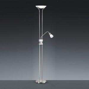 LED-Standfluter in 2 Farben mit 1x 18W + 4,5W Leselicht