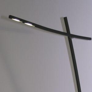 LED-Stehleuchte mit LEDs in warmweiß