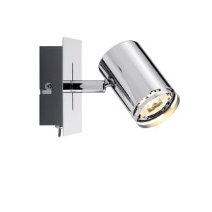 LED-Strahler Rondo in Chrom für GU10 Leuchtmittel