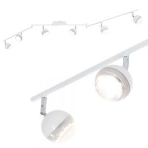 LHG LED-Strahlerserie - Deckenstrahler - 6-flammig - Weiß weiß