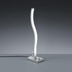 LED-Tischleuchte Marius mit Drehdimmer - Aluminium