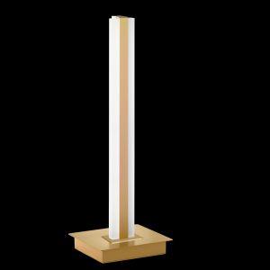LED-Tischleuchte Turn Tastdimmer, Messing-matt, 46 cm