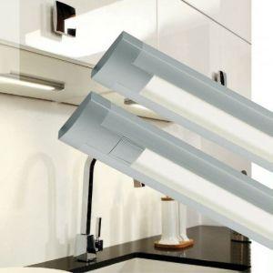 LED-Unterbauleuchte aus Aluminium 58,2cm 18W 1120 Lumen 4000°K auch zur Eckmontage geeignet