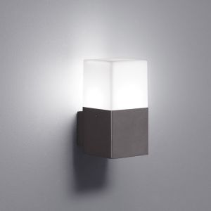 LED-Wandleuchte 1-flg. mit LED 1 x 4 Watt in Anthrazit anthrazit