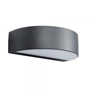 LHG LED-Wandleuchte aus Aluminium - Anthrazit