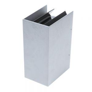 LED-Wandleuchte Silber, LED 2 x 3 W silber