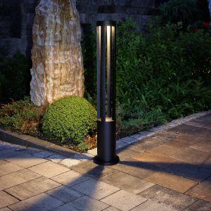 LHG LED-Wegeleuchte 10W in schwarz  + Gratis Spannungsprüfer
