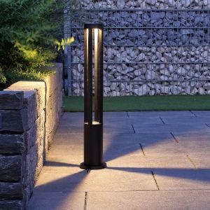 LED-Wegeleuchte schwarz, 80 cm