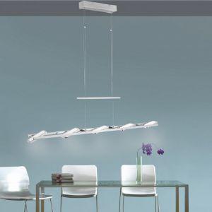 LED-Zugpendelleuchte Chrom - 5 x 4,6W LED