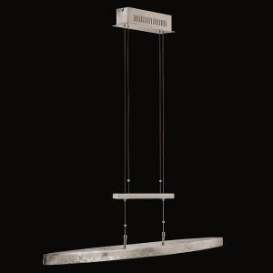 LED-Zugpendelleuchte in Nickel-antik, Länge 106 cm