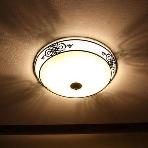 Leuchte im klassischen Landhausstil in antik-braun, 39,5cm 2x 60 Watt, 13,30 cm, 39,50 cm
