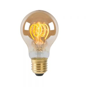 Lucide Amberfarbene E27 5W LED - Glühfadenlampe  Dimmbar