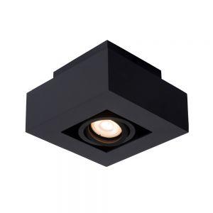 Lucide Deckenstrahler Xirax schwarz, 1-flammig 14,00 cm, 14,00 cm