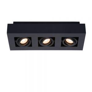 Lucide Deckenstrahler Xirax schwarz, 3-flammig 36,00 cm, 14,00 cm