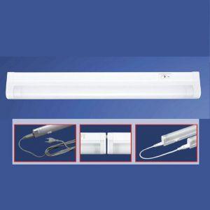 Mini-Lichtleiste in Weiß mit Schalter