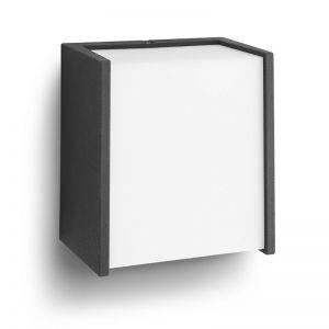 Moderne LED-Außen-Wandleuchte , schwarz