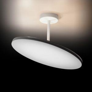 Moderne LED-Deckenleuchte, rund Ø32cm - Weiß weiß