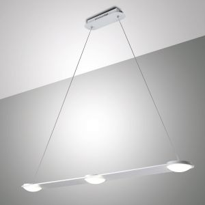 Moderne LED-Pendelleuchte aus Metall - dimmbar