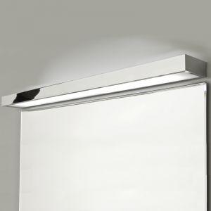 LHG Moderne Wandleuchte als perfekte indirekte Badbeleuchtung - Chrom - 120 cm Länge - inklusive Leuchtmittel