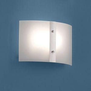 Moderne Wandleuchte Größe 20 x 30cm für 2x E27 53W 2x 53 Watt, A++ - E