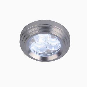 Moderner Einbaustrahler mit LED - 3W Tageslicht
