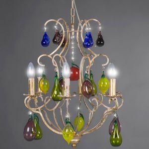 Moderner Kronleuchter  Mundgeblasenes Muranoglas - Kristallglas